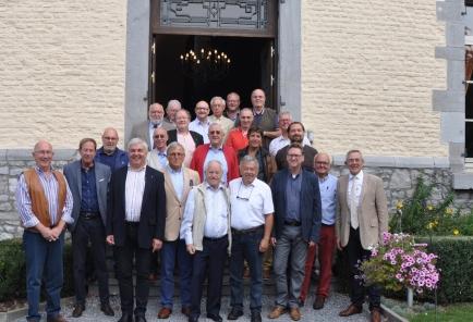 Instantané de nos Membres lors de la réunion statutaire du mercredi 5 septembre 2018